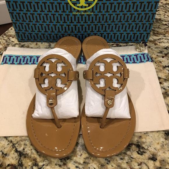 b762ef4e08669c Tory Burch Shoes - Tory Burch miller sandal  size 8.5